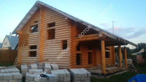Расчет винтовых свай для фундамента каркасного дома в Мытищах