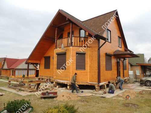 Фундамент под забор с кирпичными столбами цена в Красногорске